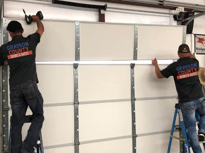 grayson county door and gates - garage door installation sherman tx 5